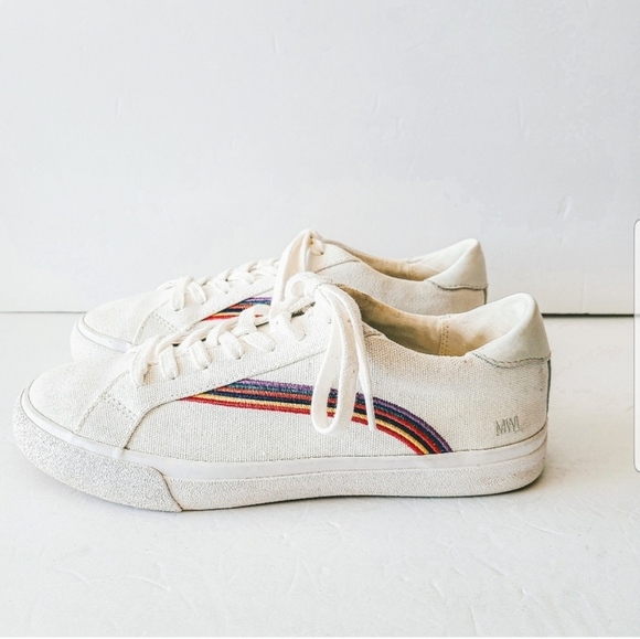 Madewell Shoes   Rainbow Sneakers